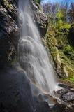 De waterval van Vodopadbystre royalty-vrije stock afbeeldingen