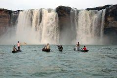 De Watervallen van Chitrakoot Royalty-vrije Stock Afbeeldingen