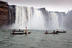 De Watervallen van Chitrakote Royalty-vrije Stock Afbeeldingen