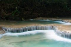 De watervallen van Erawan Royalty-vrije Stock Foto's
