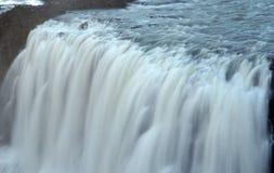 De watervallen van Gullfoss in IJsland stock foto