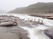 De Watervallen van HU Kou van de Gele Rivier Royalty-vrije Stock Afbeeldingen