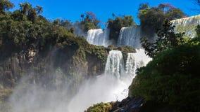 De Watervallen van Iguazu Stock Foto