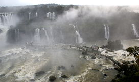 De Watervallen van Iguazu, Brazilië, Argentinië Royalty-vrije Stock Fotografie