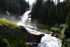 De Watervallen van Krimml Royalty-vrije Stock Fotografie