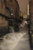 De watervallen van Kvarnbyn Stock Foto