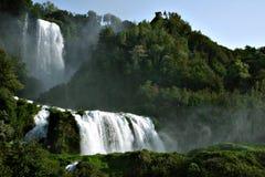 De watervallen van Marmore Royalty-vrije Stock Foto