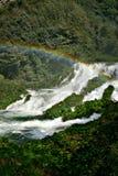 De watervallen van Marmore Stock Afbeeldingen