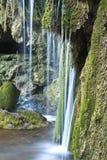 De watervallen van Skra, Griekenland Royalty-vrije Stock Foto's