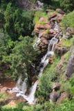 De Watervallen van Soni in Bergen Usambara Stock Foto