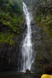 De watervallen van Tahiti Royalty-vrije Stock Foto