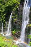 De watervallen van Varal Royalty-vrije Stock Fotografie
