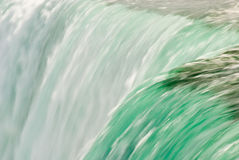 De watervalsamenvatting van het detail Stock Foto