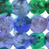 De waterverf schilderde naadloos Abstract creatief ontwerp als achtergrond Stock Fotografie