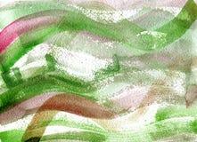 De waterverfachtergrond van Grunge Stock Afbeeldingen
