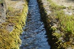 De Waterweg Royalty-vrije Stock Foto's