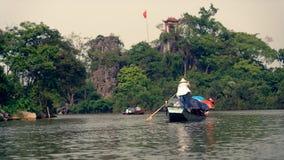 De Waterweg van Hanoi stock foto's