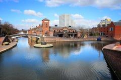 De waterwegen van Birmingham royalty-vrije stock foto's