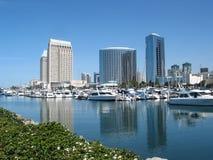 De waterwegen van San Diego Stock Foto's