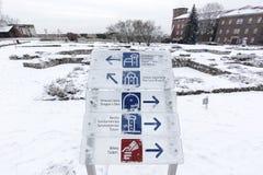 De Wawel-Heuvel stock foto