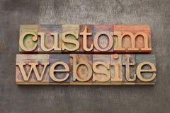 De website van de douane stock afbeeldingen