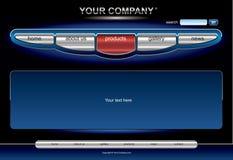 De websitemalplaatje van Editable Stock Fotografie