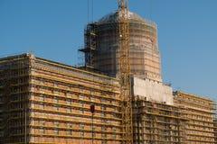 De wederopbouw van Berlin City Palace/Stadtschloss Stock Afbeelding