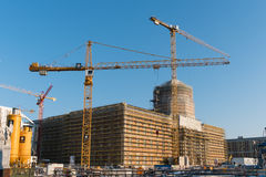 De wederopbouw van Berlin City Palace/Stadtschloss Stock Afbeeldingen