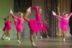 De wedstrijd van de DancePowerdans, Minsk, Wit-Rusland Royalty-vrije Stock Fotografie