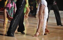 De Wedstrijd van de dans Stock Afbeelding
