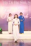 De wedstrijdstudenten, Studententalent Royalty-vrije Stock Foto's
