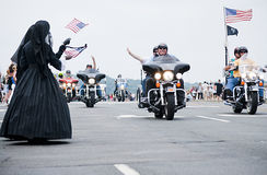 De Weduwen van de oorlog bij de Donder 2011 van Rolling Royalty-vrije Stock Afbeeldingen