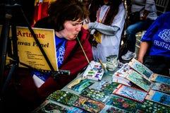 De Week van schilderson disability awareness Art And Folk Dance Event - Turkije stock afbeeldingen