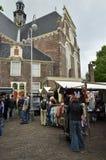 De weekendmarkt bij de Noordelijke Markt Royalty-vrije Stock Afbeeldingen