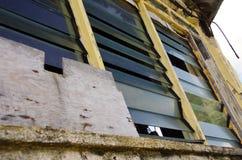 De weer geslagen bouw, Tonga stock foto's