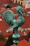 De Weerhaan van Praag Stock Afbeelding