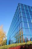 De weerspiegelende Bouw stock afbeelding