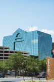 De weerspiegelende moderne bouw in de stad van El Paso Royalty-vrije Stock Afbeelding