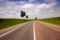 De weg stock foto's