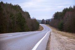 De weg Stock Fotografie