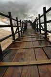 De weg aan de Hel stock fotografie