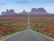 De weg aan de Vallei van het Monument Royalty-vrije Stock Fotografie