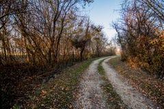 De weg aan Huis Stock Foto