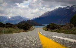 De weg aan nergens Royalty-vrije Stock Fotografie