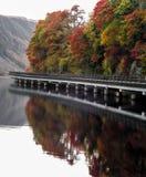 De weg aan Oban Schotland stock afbeeldingen