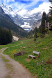 De weg aan Paradijs Stock Afbeelding