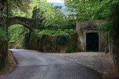 De weg aan Sintra Stock Fotografie