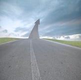 De weg aan succes stock afbeelding