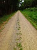 De weg gaat  Stock Afbeeldingen