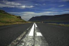 De Weg IJsland van de ring Stock Foto's
